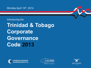 TT Corporate Governance Code
