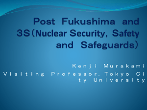 The Tokaimura Accident: Nuclear Energy and Reactor Safety Part I