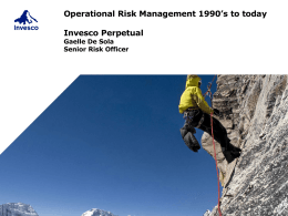 What was risk management?