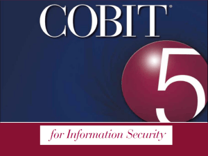 COBIT 5 for Information Security v2