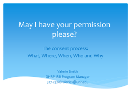 May I have your permission please?