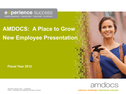 A Place to Grow New Employee Presentation