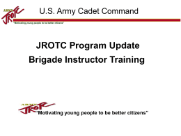 Bde Training1 FY12