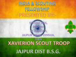 Scouting In Independent India - World Organization of the Scout