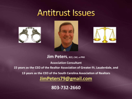 Antitrust PowerPoint Presentation