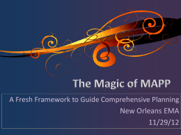 The Magic of MAPP