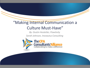 Powerpoint - The CPA Consultants` Alliance