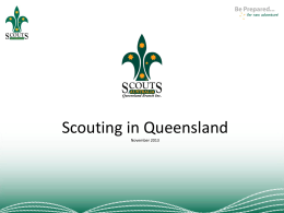 Powerpoint Presentation - Scouting In Queensland