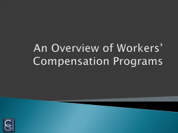 Workers Compensation - CGLegalServices