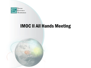 to find the briefing package - IMOC II
