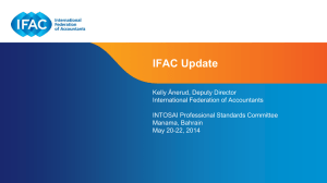 News from IFAC