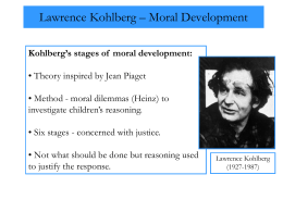 Lawrence Kohlberg - Simply Psychology
