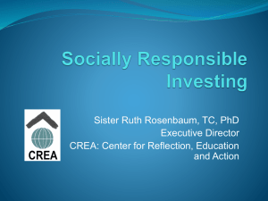 Etica-Socially Responsible Investing updated 2014 PPTX