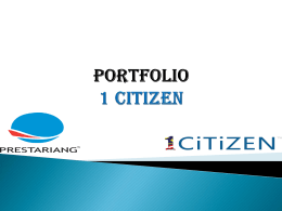 Portfolio 1 Citizen