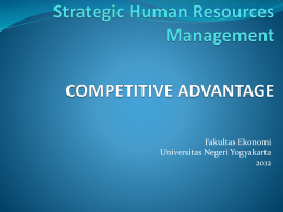 How SHRM can contribute in achieving competitive advantage?
