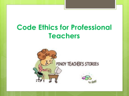 File - Teaching Profession