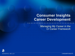 General Mills career framework