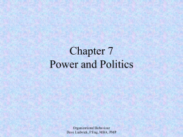 Organizational Behaviour Chapter 7