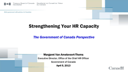 Building HR Capacity