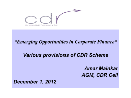 Emerging-Opportunities-in-Corporate-Finance-Various-provisions