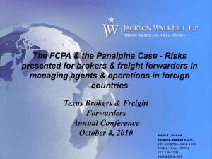 Understanding the FCPA