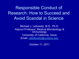 Student Presentation - Savannah State University
