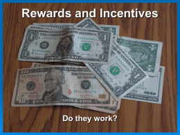 Rewards and Incentives - Greater Cleveland Safety Council