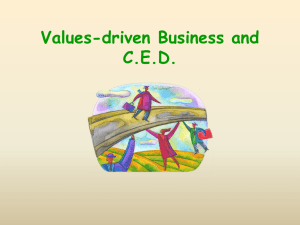 businesses - Green Economics