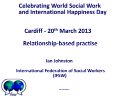 Relationship-based practise - British Association of Social Workers