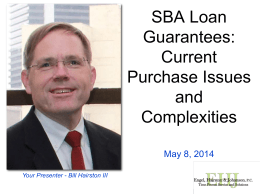 Navigating the Storms of Recovering on SBA 7(a) Loan Guarantees