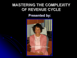 mastering the complexity of revenue cycle