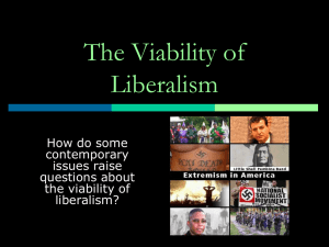 ch 12 The Viability of Liberalismjm