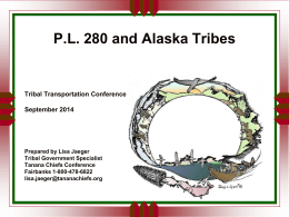 Jaeger – Public Law 280 and Alaska Tribes