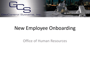 New Employee Orientation PowerPoint