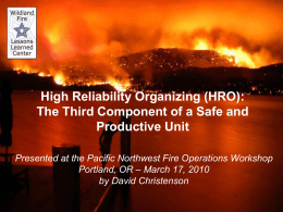 Fire Behavior Modeling Tools