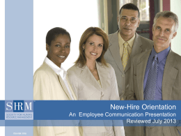 New-Hire Orientation - UGA Human Resources