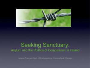 Seeking Sanctuary: Asylum and the Politics of Compassion in