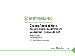 1. Ryan Lanyon - Change Agent mini ACT Summit