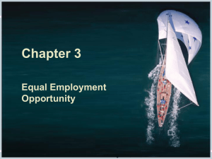 Ch03 (Equal Employment Opportunity)