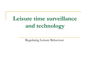 leisure-time-surveillance-and
