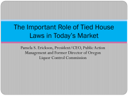 The Important Role of Tied House Laws in Today`s Market