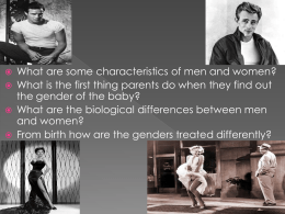 Gender, Family, and Marriage - Wood