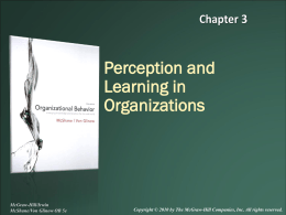 Introduction to the Field of Organizational Behavior