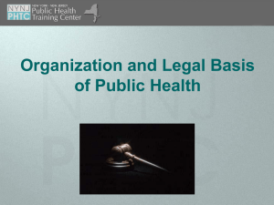 Slides for Module 3 - Empire State Public Health Training Center