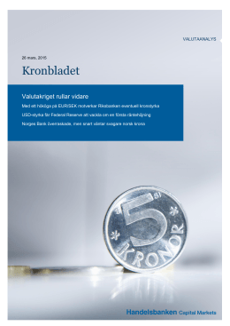 Kronbladet - Macro Research