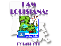 I AM Louisiana!