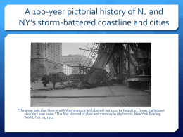 A History of NJ/NY Battered Beaches
