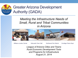 gada - League of Arizona Cities and Towns