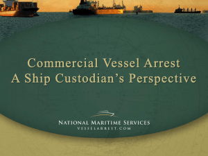 Introduction - National Maritime Services