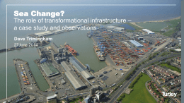 Planning for Transformational Infrastructure